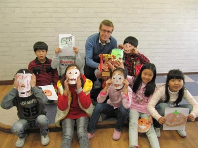 With the my second school in Ansan, Gyeonggi-do